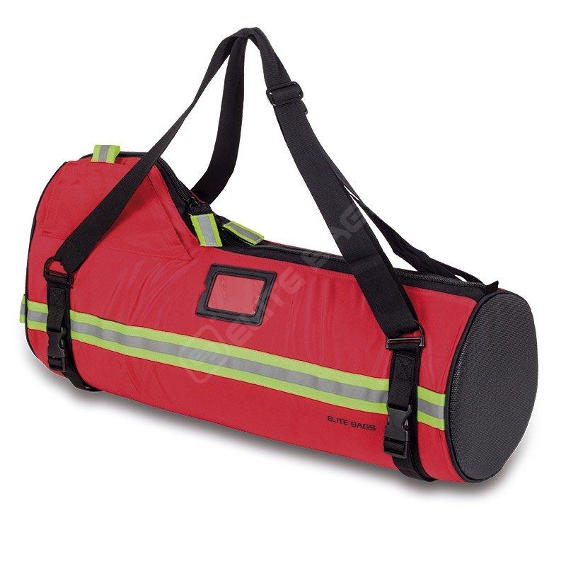 Bolsa botella de oxígeno. De hasta 5 litros con caudalímetro, Mochila o bandolera. facilitando la ergonomía.