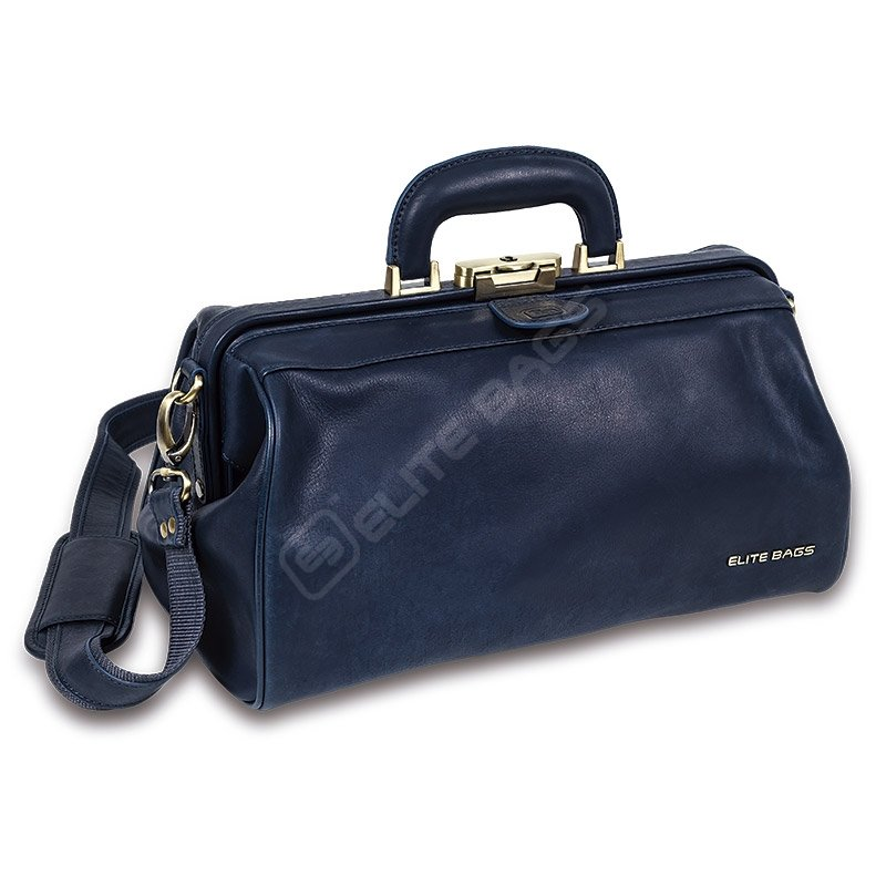 Compact Leather Doctor Briefcase