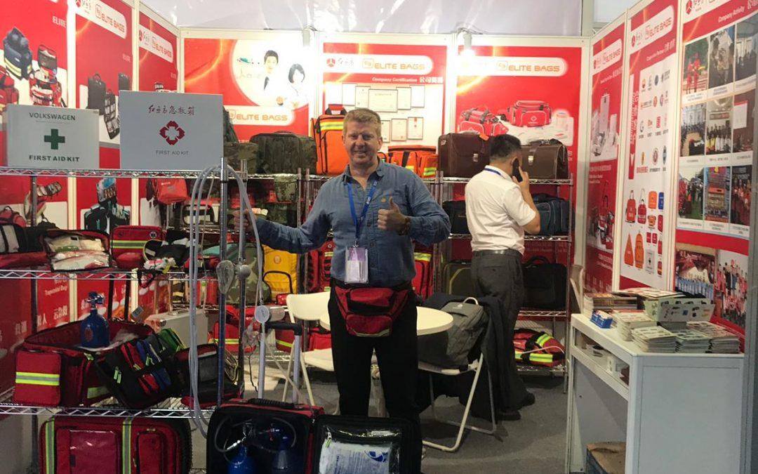 CMEF AUTUMN 2018 Elite Bags una vez más, presente en la feria médica más importante de Asia
