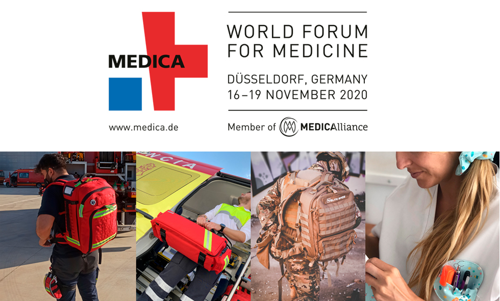 MEDICA 2020: Elite Bags participates in the Virtual Medical Fair. Adapting to the new times and presenting its news online.